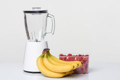 Smoothie set with blender Stock Photography