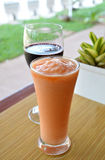 Smoothie tropical Photographie stock
