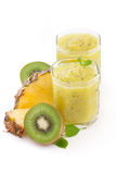 Smoothie tropicale Immagini Stock