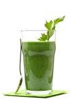 Smoothie végétal Photographie stock libre de droits
