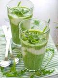 Smoothie vegetal Imagem de Stock