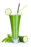 Smoothie vegetal verde Imagens de Stock Royalty Free