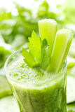 Smoothie verde Fotografie Stock