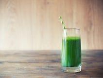 Smoothie verde Fotografía de archivo
