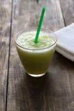 Smoothie verde Foto de archivo libre de regalías