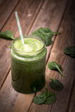 Smoothie verde Foto de Stock Royalty Free