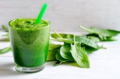Smoothie vert Photo libre de droits