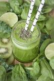 Smoothie vert Image libre de droits