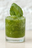 Smoothie vert Photos stock