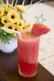 Smoothie watermelon, fresh drink Stock Image