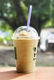 smoothie zielona herbata Obrazy Stock
