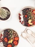 Smoothiebowl photographie stock