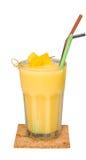 Smoothiemango, ny drink royaltyfri foto