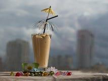 Smoothies и мороженое здоровое лето стоковое фото