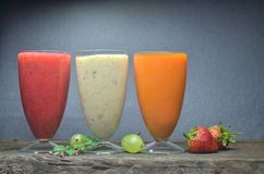 smoothies свежих фруктов Стоковое Изображение