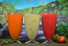smoothies свежих фруктов Стоковая Фотография RF