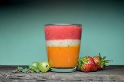 smoothies свежих фруктов Стоковые Изображения RF