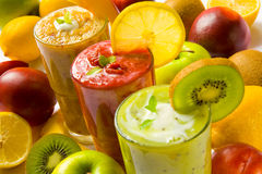 Smoothies stock photography