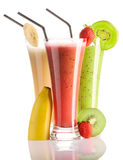 Smoothies Photos libres de droits
