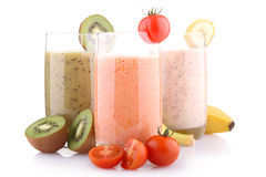 Smoothies Foto de Stock Royalty Free