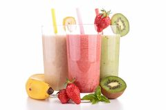 Smoothies Fotografia Stock