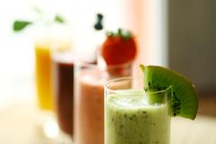 smoothies arkivfoto