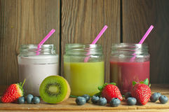 smoothies Royaltyfri Fotografi