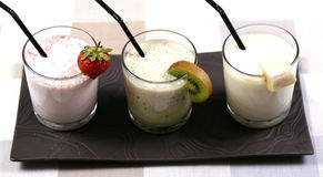 smoothies Photographie stock libre de droits
