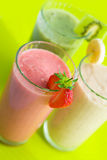 smoothies Royaltyfri Foto