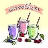 smoothies Stock Foto's