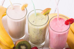 smoothies stock foto's