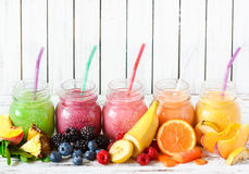 smoothies Stock Afbeelding