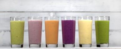 smoothies Fotografering för Bildbyråer