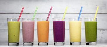 smoothies Royaltyfria Bilder