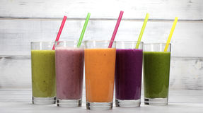 smoothies Royaltyfri Bild