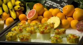 Smoothies de la fruta Fotos de archivo