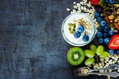 Smoothies de la fruta fresca Fotos de archivo