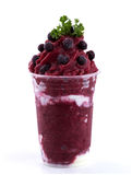 Smoothies de Mixberry Images libres de droits