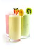 Smoothies della frutta Fotografia Stock Libera da Diritti