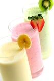Smoothies della frutta Immagini Stock