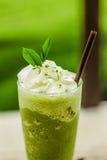 Smoothies för grönt te Royaltyfri Bild