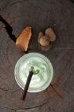 Smoothies milk green tea latte Royalty Free Stock Photos