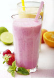 smoothies owocowe Obraz Stock