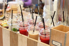 Smoothies Royalty Free Stock Photography