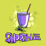 SmoothieVector41 Royalty Free Stock Images