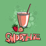 SmoothieVector2 Royalty Free Stock Images
