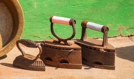 Smoothing-iron Royalty Free Stock Photo