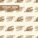 Smoothing Iron.  Vintage style Stock Image