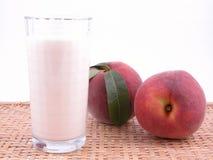 smoothite персика Стоковые Изображения RF