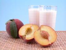 smoothite персика Стоковое Изображение